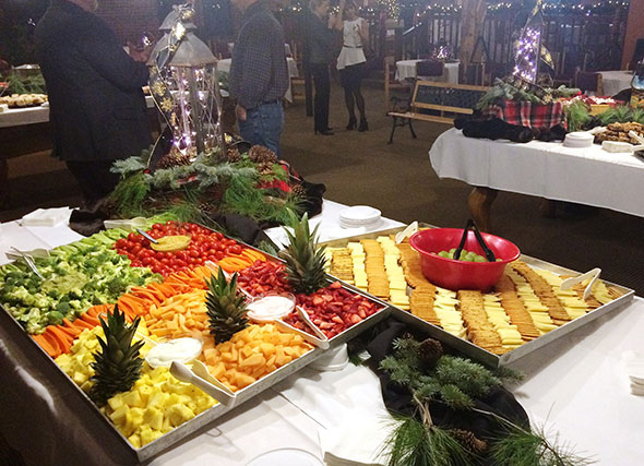 Photo of Maryland corporate catering event.