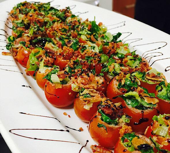 Photo of stuffed tomatoes